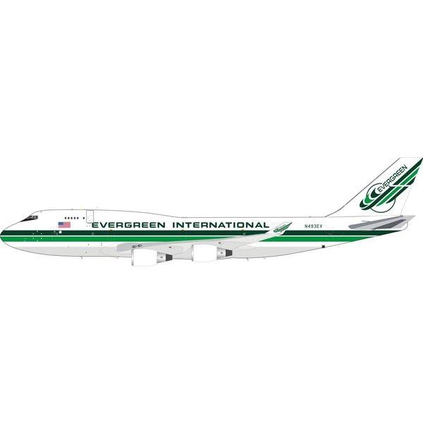 InFlight Boeing B747-400 Evergreen International N493EV 1:200 With Stand