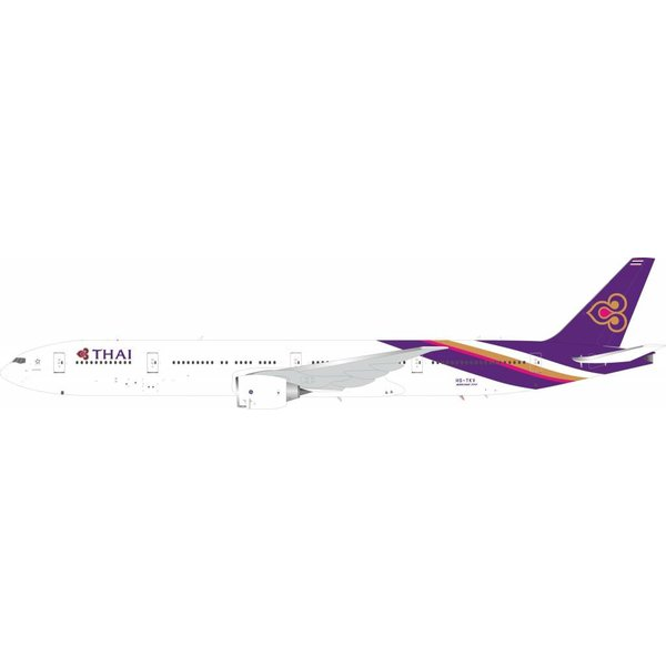 InFlight B777-300ER Thai Airways International HS-TKV 1:200 With Stand