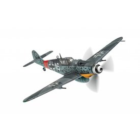 Corgi Bf109G-6/U2 WHITE 16 1./JG301 Luftwaffe July 1944 1:72 with stand