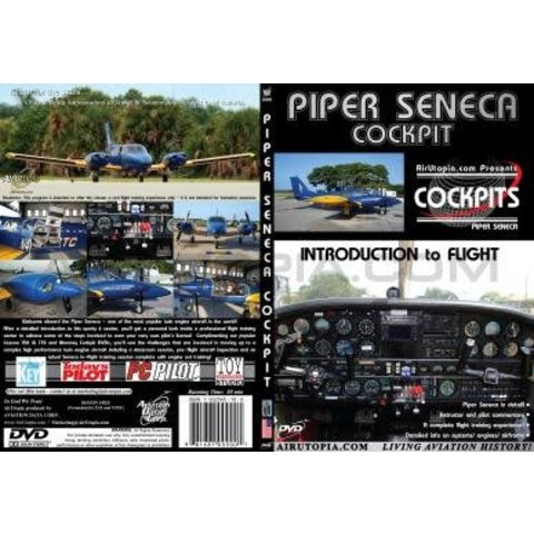 DVD Piper PA34 Seneca: Introduction to Flight Cockpit #79