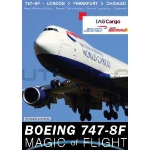 DVD British Airways World Cargo IAG 747-8F: Magic of Flight  #111
