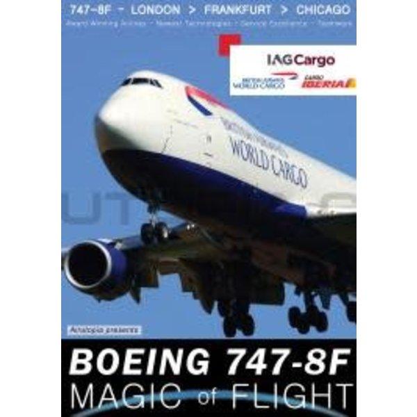 Air Utopia DVD British Airways World Cargo IAG 747-8F: Magic of Flight  #111