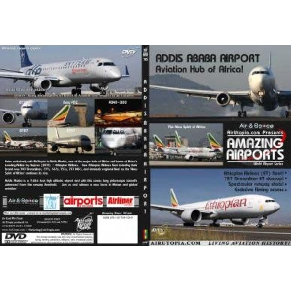 Air Utopia DVD Addis Ababa Bole Airport: Hub of Africa #115