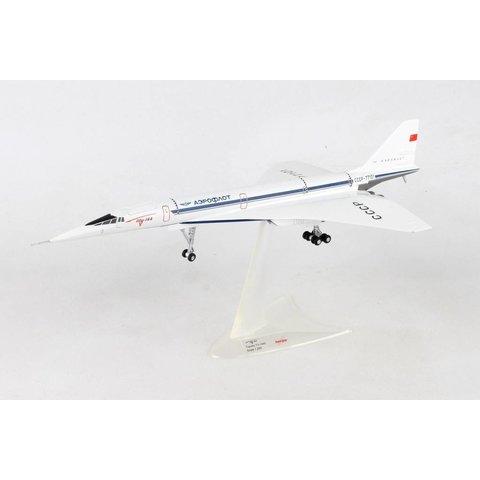 TU144S Aeroflot CCCP-77101 Antonov Design Bureau 1:200 with gear