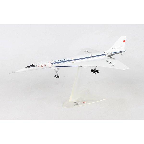 Herpa TU144S Aeroflot CCCP-77101 Antonov Design Bureau 1:200 with gear