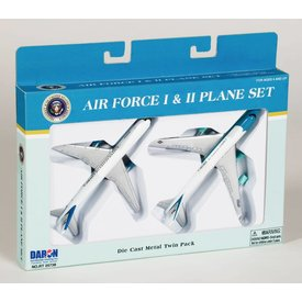 Daron WWT Air Force One & Two USAF 2 Plane Set