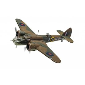 Corgi Bristol Blenheim Mk.IV 18 Squadron RAF R3843 WV-F Operation Leg August 1941 1:72 with stand