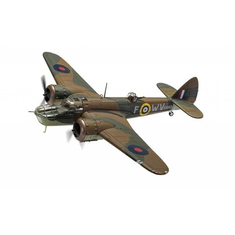 Bristol Blenheim Mk.IV 18 Squadron RAF R3843 WV-F Operation Leg August 1941 1:72 with stand