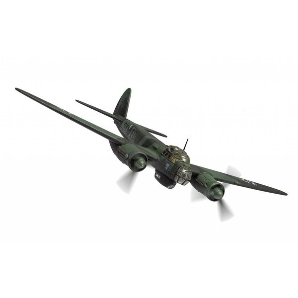Corgi JU88A-5 III./KG51 Luftwaffe 9K+ED Winter 1940 1:72 with stand