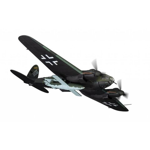 Heinkel HE111H-16 II./KG53 A1+HK with V1 Flying Bomb Unit Luftwaffe Ahlhorn Late 1944 1:72 with stand