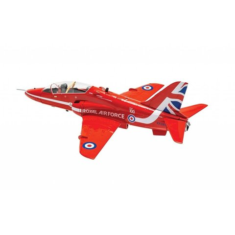 Hawk T1A Red Arrows 2018 RAF 100 Livery XX245 Scampton 1:72 with stand