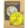 Time Speed Distance Circular Computer with Protractor Plotter 3-3/4""