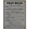 Metal Sign, Pilot Rules