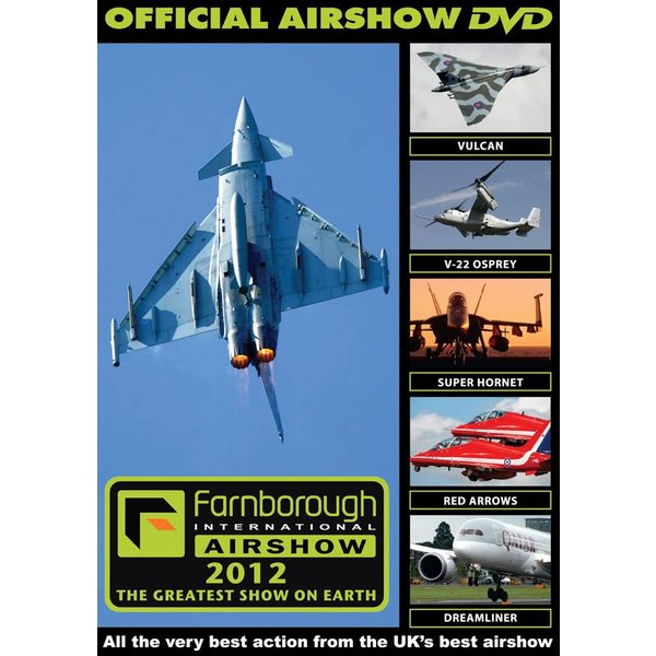 Air Utopia DVD Farnborough International Airshow 2012 Official DVD #108