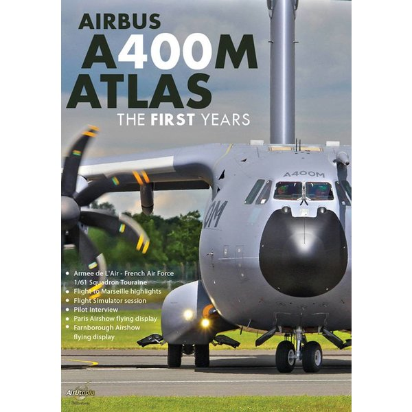 Air Utopia DVD A400M Atlas: The First Years: French Air Force #128