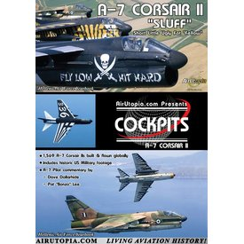 Air Utopia DVD A7 Corsair II Cockpit: Hellenic Air Force #104
