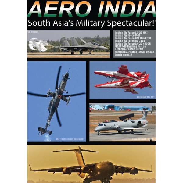 Air Utopia DVD Aero India 2017: South Asia's Military Spectacular #143