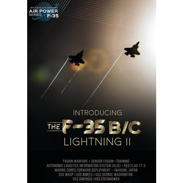 Air Utopia DVD Introducing the F35B/C Lightning II #151