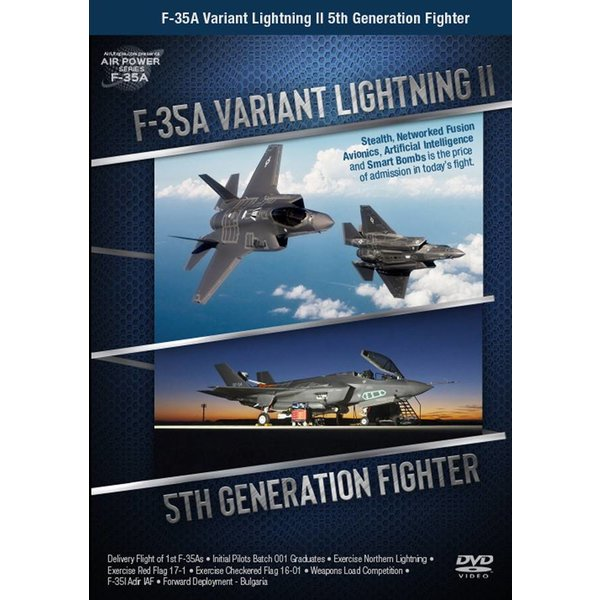 Air Utopia DVD Introducing the F35A Lightning II: 5th Generation Fighter #157