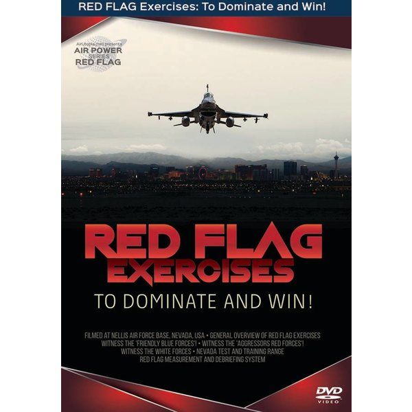 Air Utopia DVD Red Flag Exercises: To Dominate and Win #161