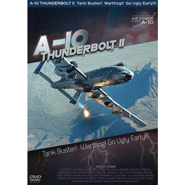 Air Utopia DVD A10 Thunderbolt II: Tank Buster! Warthog! Go Ugly Early! #158