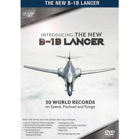 DVD Introducing the B1B Lancer: 50 World Records #167