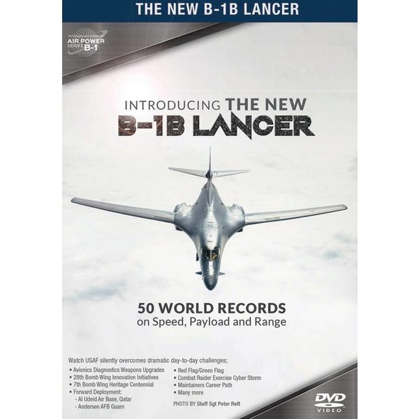 Air Utopia DVD Introducing the B1B Lancer: 50 World Records #167