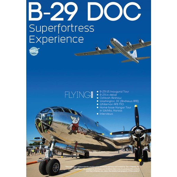 Air Utopia DVD Boeing B29 DOC Superfortress Experience: #170