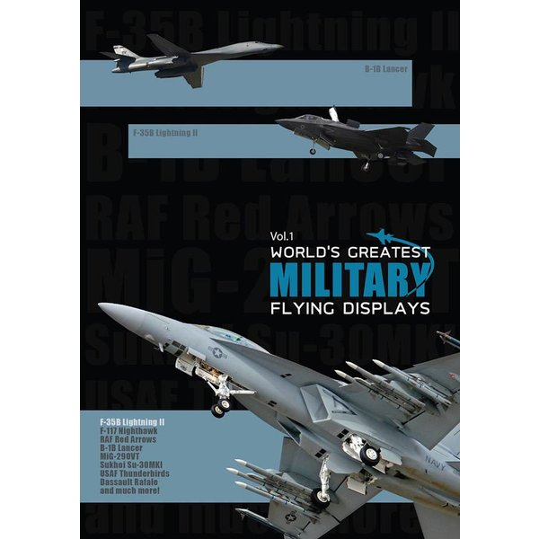 Air Utopia DVD World's Greatest Military Flying Displays: Volume 1 #136
