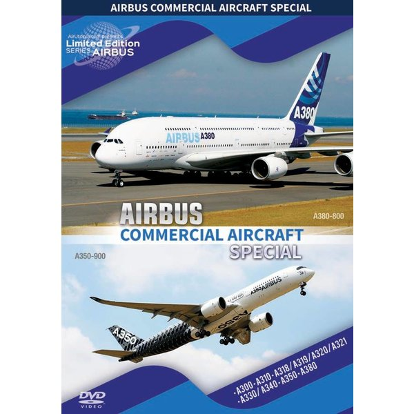 Air Utopia DVD Airbus Commercial Aircraft Special