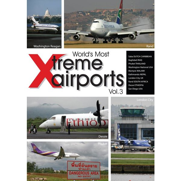 Air Utopia DVD World's Most Extreme Airports: Volume.3 #134