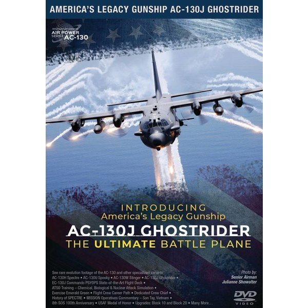 Air Utopia DVD Introducing America's Legacy Gunship AC130J Ghost Rider #172