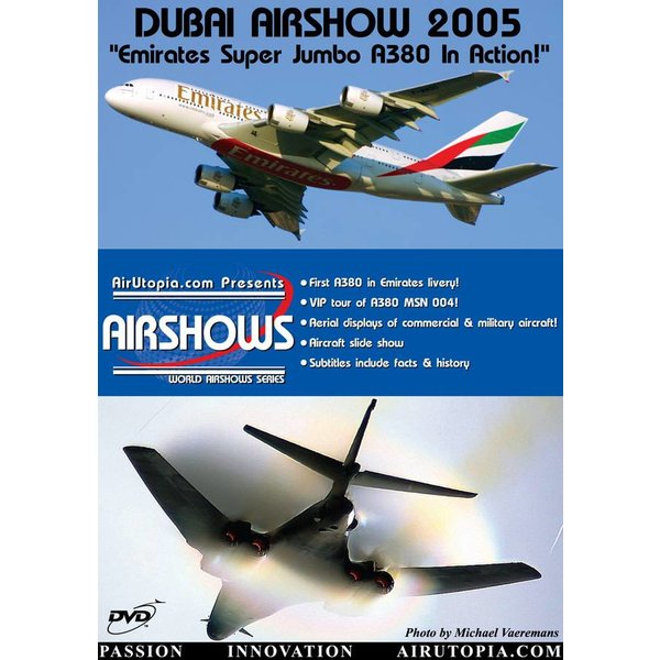 Air Utopia DVD Dubai Airshow 2005: Emirates A380 #4