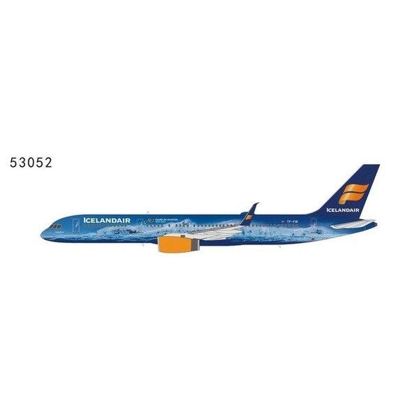 NG Models B757-200S Icelandair Vatnajökull Glacier 80 years of Aviation livery TF-FIR 1:400