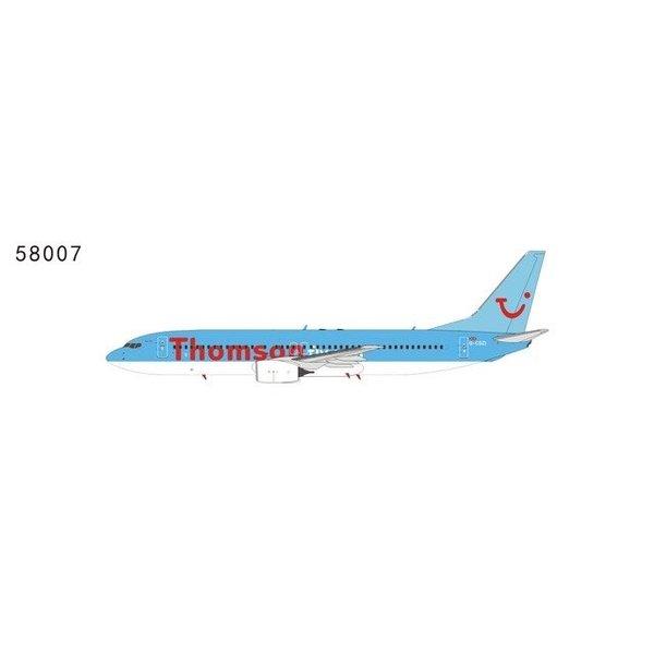 NG Models B737-800 thomsonfly G-CDZI 1:400