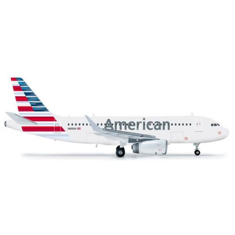A319S American Airlines 2013 Livery sharklets 1:200 With Stand