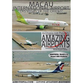 Air Utopia DVD Macau International Airport: Amazing Airports #100