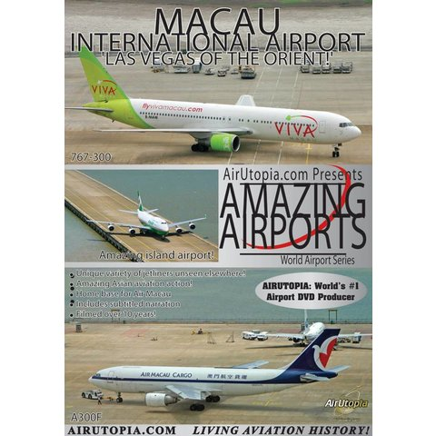 DVD Macau International Airport: Amazing Airports #100