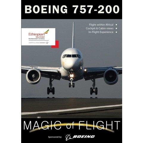 DVD Boeing 757-200 Ethiopian Cockpit: Magic of Flight #118