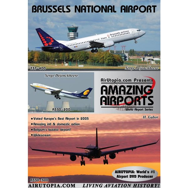 Air Utopia UTOPIA DVD Brussels Zaventem National Airport #95