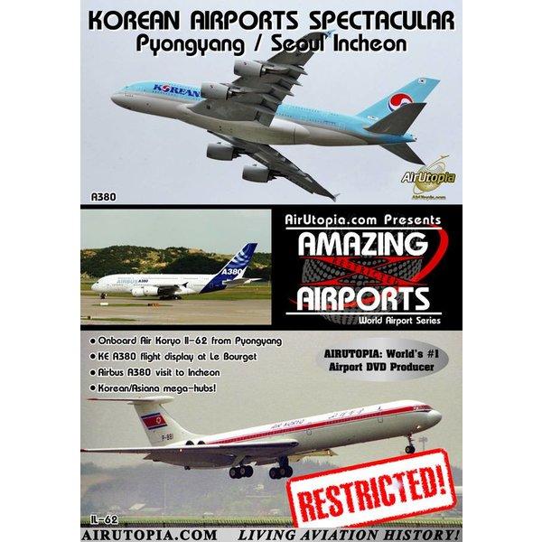 Air Utopia UTOPIA DVD Korean Airports: Pyongyang, Seoul Incheon #105