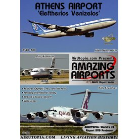 Air Utopia DVD Athens Airport Eleftherios Venizelos #102