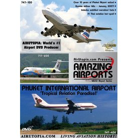 Air Utopia DVD Phuket International Airport Thailand: Tropical Paradise #90