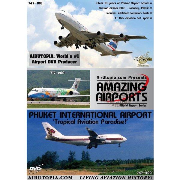 Air Utopia DVD Phuket International Airport Thailand: Tropical Paradise #90