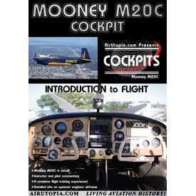 Air Utopia DVD Mooney M20C: Introduction to Flight Cockpit #78