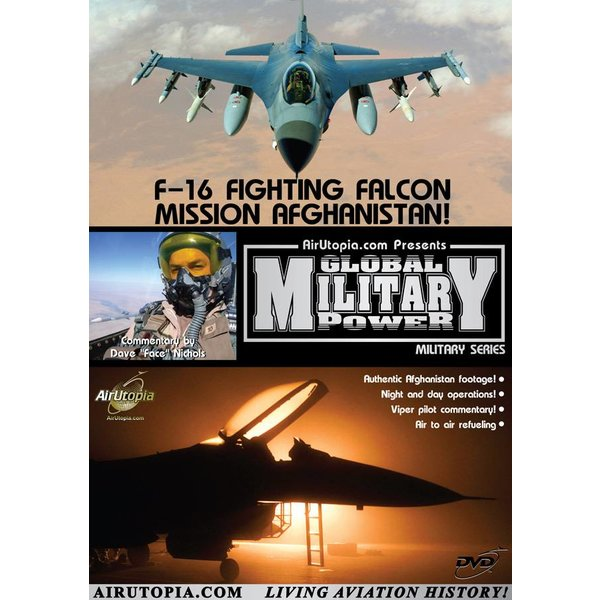 Air Utopia DVD F16 Fighting Falcon: Mission Afghanistan! #80
