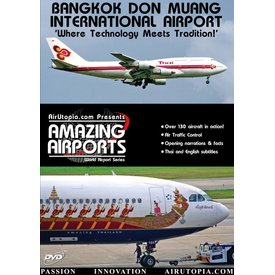 Air Utopia DVD Bangkok Don Muang International Airport Thailand: #3