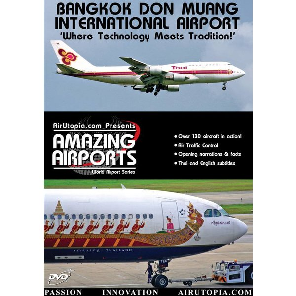 Air Utopia DVD Bangkok Don Muang International Airport Thailand: #3