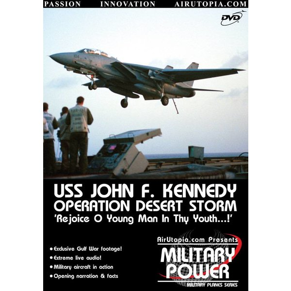 Air Utopia DVD USS John F. Kennedy: Operation Desert Storm #2