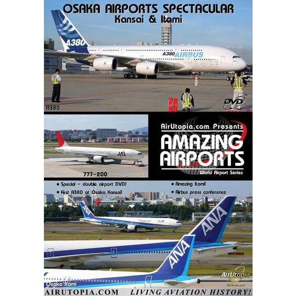 Air Utopia DVD Osaka Airports Spectacular: Kansai & Itami Japan #51